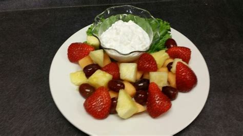 fruit and cottage cheese cottage cheese fresh fruit plate plates
