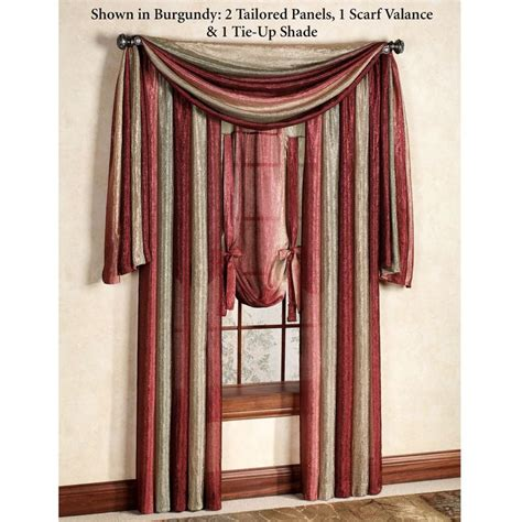 scarf curtains 25 best ideas about scarf valance on pinterest window