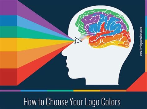 how to choose colors infographic how to choose the best colors for your logo