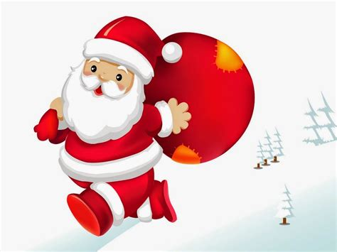 funny santa claus cartoon pictures christmas images for