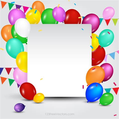 Birthday Card Template For Powerpoint by Happy Birthday Card Template Free Vectors