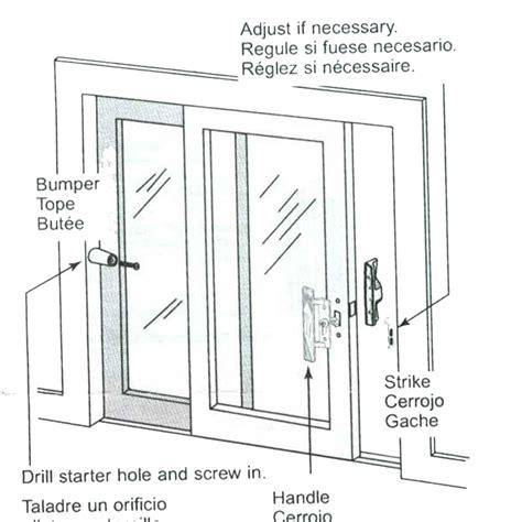 Patio Door Repair Parts Bumper Sliding Patio Door Rubber Bumper Only