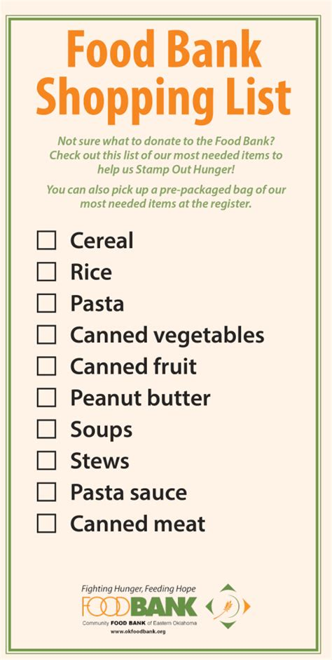 Food Pantry Donation List by December Food Drive Richmond Secondary School