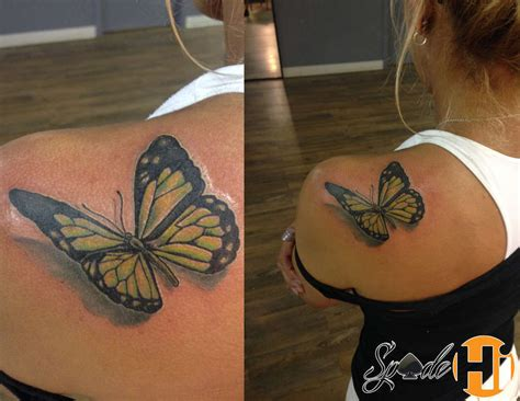 butterfly tattoo girly spade butterfly tattoo on shoulder butterfly girl girly