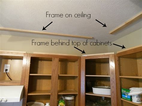 How To Build A Soffit Above Kitchen Cabinets Kitchen Reveal Kitchen Cabinet Upgrade Newton Custom Interiors