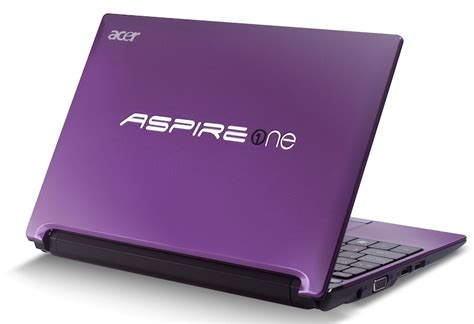 Laptop Acer Aspire One D260 acer aspire one d260 netbook gets official slashgear