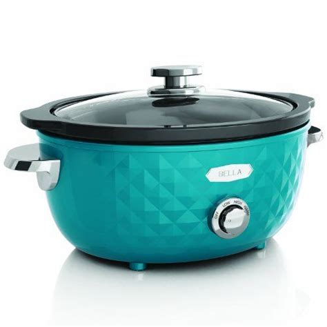 turquoise kitchen appliances trendy turquoise slow cooker love these bright small