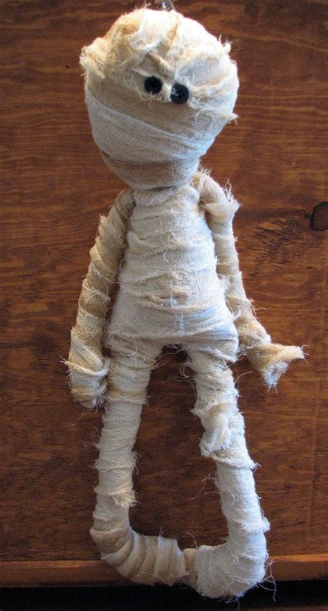 Mummy Decorations by Mummy Doll Primitive Country Decoration