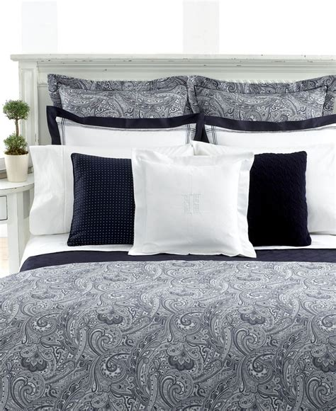 ralph lauren bedding collections lauren by ralph lauren bedding suite paisley navy
