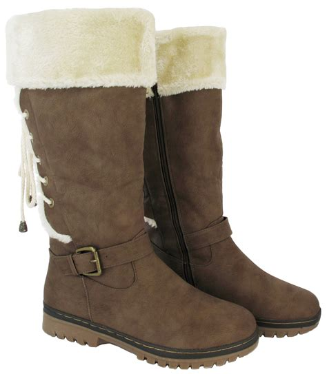 boots for big leg new flat sole winter biker style wide calf leg