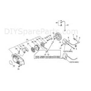 Echo Chainsaw Coil Wiring Diagram Echo Cs 3000 Chainsaw Cs3000 Parts Diagram Page 3
