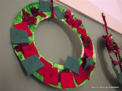 easy toddler christmas wreaths the empowered educator