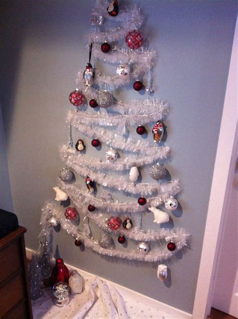 how to make a wall christmas tree 37 inspiring tree ideas for small spaces feed inspiration