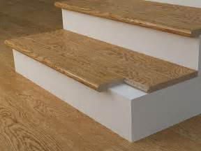 Stair Treads Wood Flooring by Completing The Installation Of A Hardwood Stair Case Tread