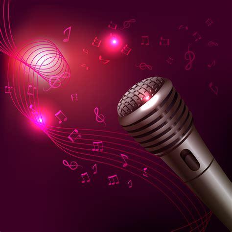 background  microphone  vector art  vecteezy