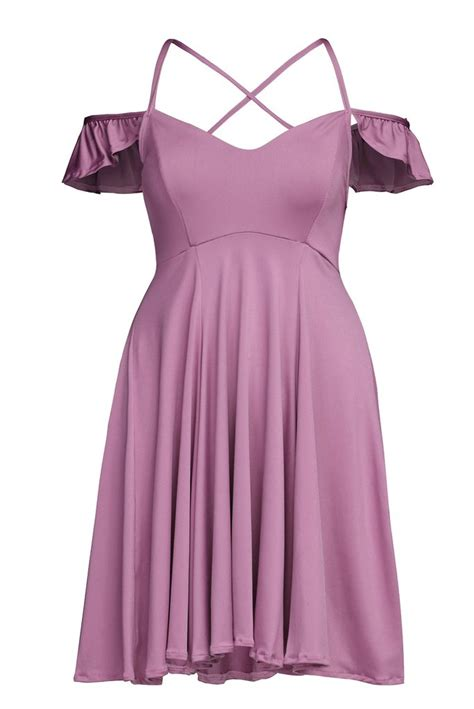 Madeline Mb Swt Purple sweet purple backless skater dress mb22723 8