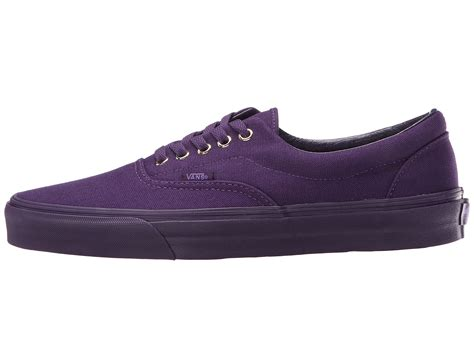 vans era purple vans era in purple lyst
