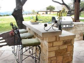 outdoor kitchen countertops pictures amp ideas from hgtv