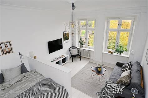 Nordic Home Interiors by Apartamento Pequeno Com Decora 231 227 O Escandinava Limaonagua