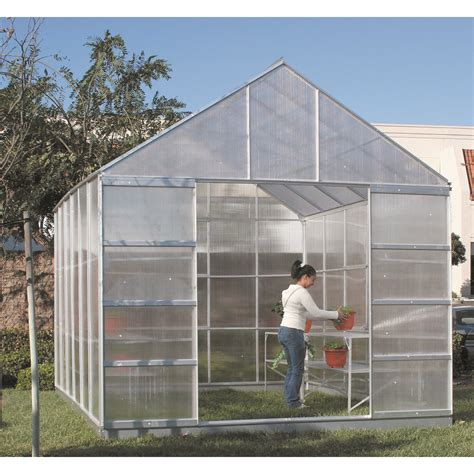 harbor freight greenhouse garden greenhouse 10 ft x 12 ft greenhouse with 4 vents