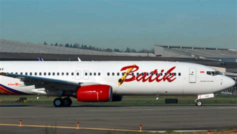 batik air undian new airline set to fly between perth and bali
