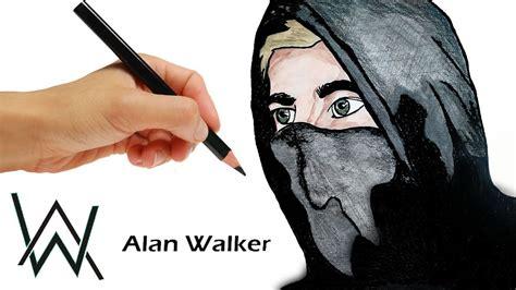 imagenes de skrillex para dibujar a lapiz como dibujar a alan walker dj dibuja y colorea paso a