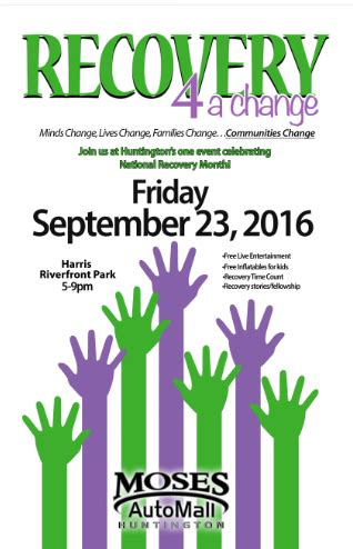 Prestera Detox Huntington Wv by Recovery 4 A Change Community Wide Event About Us