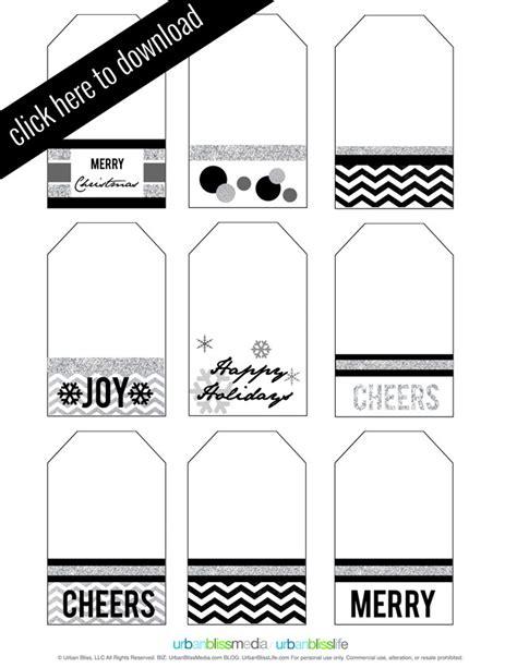 holiday gift tag printables today s creative blog