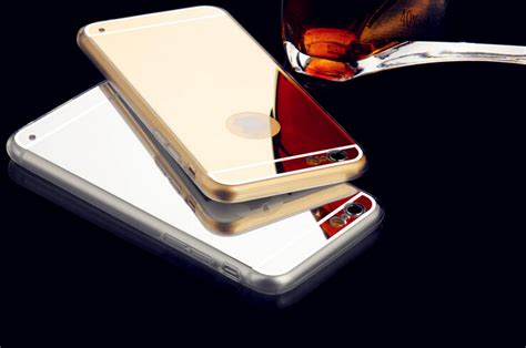 Op5091 Luxury Mirror Silicone Soft Casing Kaca Iphone 6 Kode Bi aliexpress buy soft tpu phone for iphone 6 4 7 inch electroplating mirror cover