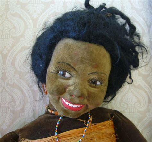 Miss Eye Modern Doll Black 182mm Softlens all original fabulous norah wellings black cloth islander
