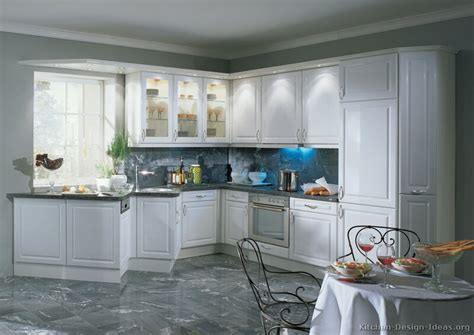 White Cabinets With Glass Doors On Pinterest White White Glass Door Kitchen Cabinets