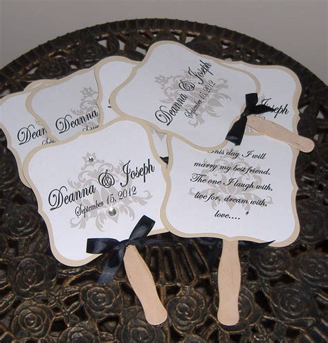 hand fans for wedding wedding fans wedding fan program wedding program fan die