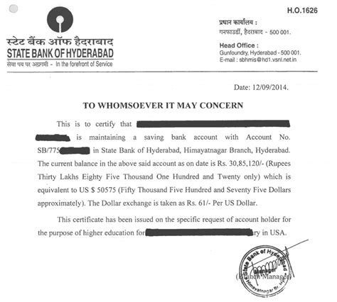 Bank Statement Letter For Student Visa Bank Statements An International Educator In Viet Nam