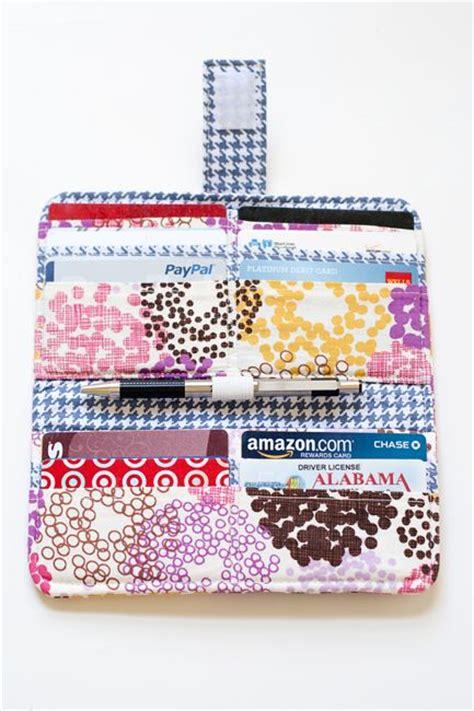 tutorial wallet fabric wallet tutorial wallets and tutorials on pinterest