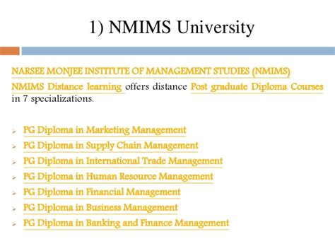 Distance Learning Mba In Dubai by Correspondence Mba In Supply Chain Management India Best