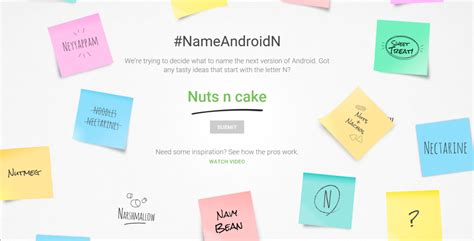 android names what should be the name of next version of android n eurostar huddle