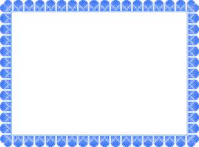 blank certificate templates blueborder900x662 gif letter