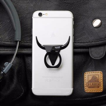 Bcase Bull Phone Ring Holder bcase bull mobile ring holder 360 degree rotation anti