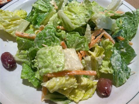 house salad 187 carrabba s house salad dine at joe s