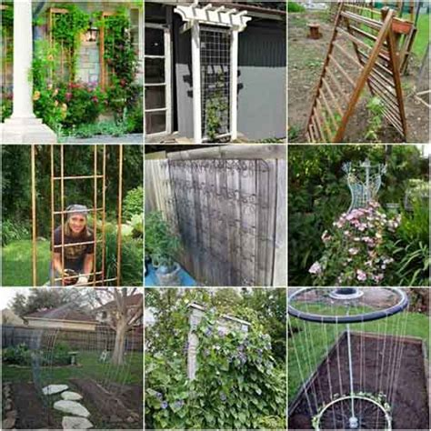 Cheap Garden Trellis Ideas 18 Diy Garden Trellis Projects Lil Moo Creations