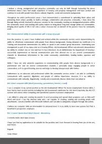 example cover letter with selection criteria cover