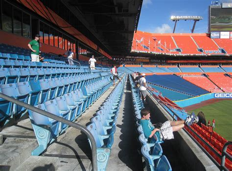 what are club level seats 8 5 11 at sun stadium the baseball collector