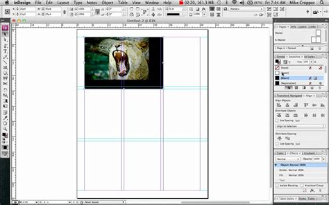 indesign frame tool indesign inserting pictures using the frame tool youtube