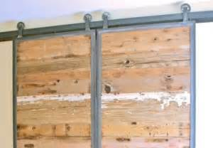Sliding Barn Door Frame Home Decor Solution Sliding Barn Doors In Reclaimed Wood The Alternative Consumer