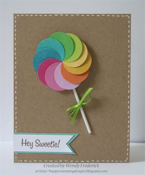Free Handmade Card Ideas - handmade birthday cards and simple card ideas