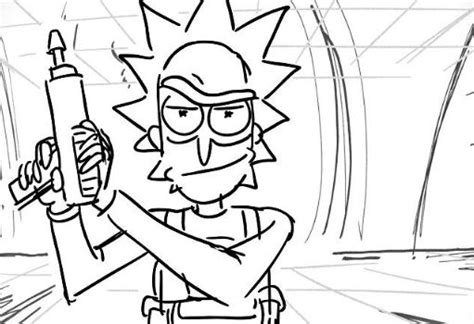 coloring pages rick and morty rick and morty coloring page cartoon drawing board weekly