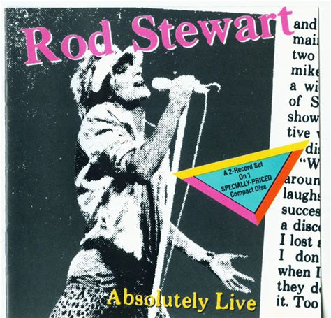 format live cd rod stewart absolutely live cd album at discogs