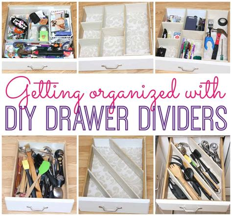 Diy Kitchen Drawer Dividers by Diy Drawer Dividers