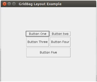 grid layout exles java gridbaglayout in java java help
