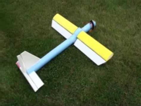 air boat noodle home brew diy rc plane made from pool noodle youtube